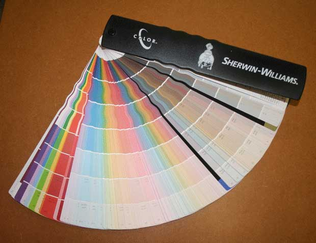 Sherwin Williams kleurenwaaier